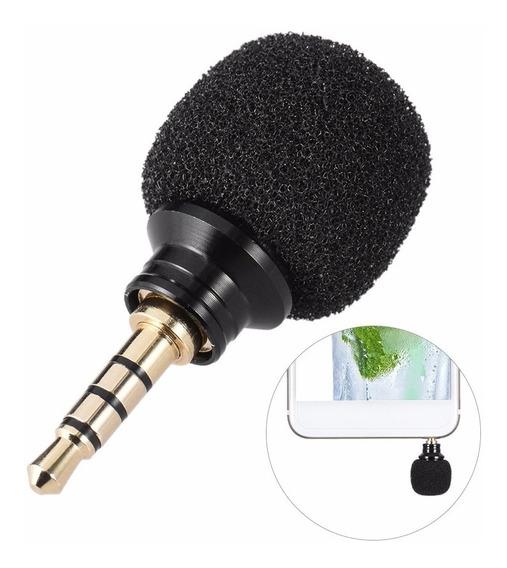 Mini Microfone Estéreo Go Pro Celular Cameras Gravador