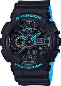 Relógio Casio G-shock Ga-110ln-1adr Preto/azul