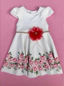 Vestido Infantil Gode Floral
