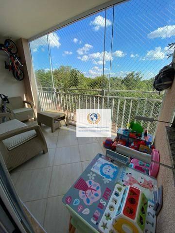 Imagem 1 de 16 de Apartamento Com 3 Dormitórios À Venda, 76 M² Por R$ 475.000,00 - Jardim Santa Genebra - Campinas/sp - Ap0699