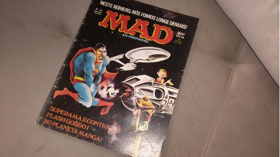 Revista Mad 81 - Editora Vecchi