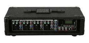 Cabeçote Amplificado 4 Canais 150w +usb,sd,mp3,bluetooth,fm