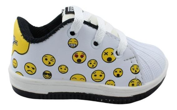 Zapatilla Skater Skate Urbanas Emoticon Emoji 18 Al 26