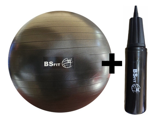 Imagen 1 de 4 de Pelota Esferodinamia 65 Cm Bsfi + Infaldor Pilates Yoga Ball