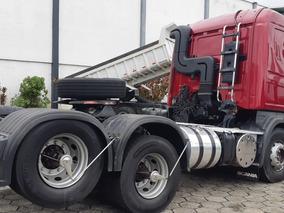 G 400 Scania Cavalo 6x2 Cegonha Optcruise Revisada