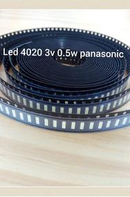 Kit 50 Led 4020 3v 0.5w Panasonic Tc40c400b