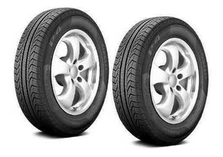 Paquete 2 Llantas 195/60r15 Pirelli P4 Four Season Plus 88h