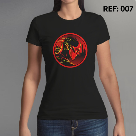 Camiseta Feminina, The Flash, Super Heroi, Dc Comics Series