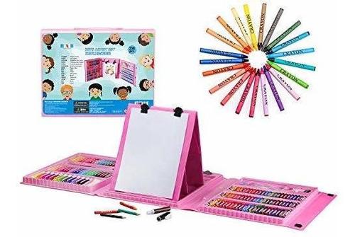 H & B Kids Art Supplies 208 Piezas De Pintura Y Dibujo Case,