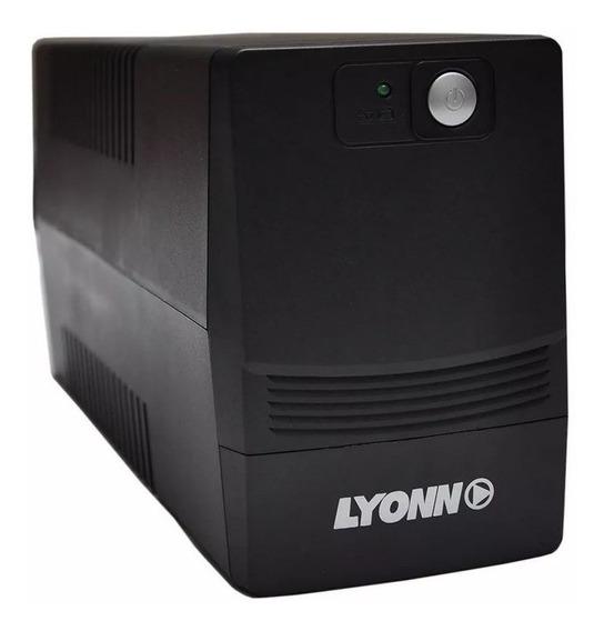 Ups Y Estabilizador Lyonn 500w 500va Con Soft Y Usb