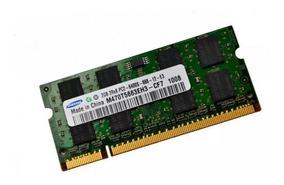 Memoria Ddr2 2gb Para Notebook Hp Asus Positivo Acer-