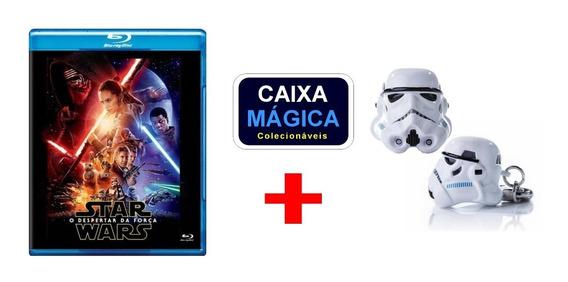 Blu-ray Star Wars Despertar Da Força + Chaveiro Iron Studios