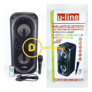 Parlante Bluetooth U-line