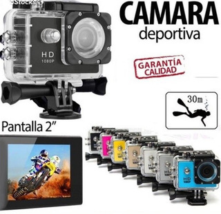 Camara Deportiva Sports Ultra Hd 1080 Tipo Go