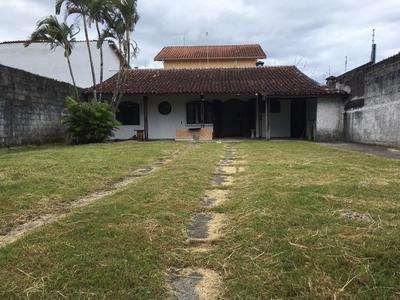 Casa Com 1 Quarto E 300 M2 Em Itanhaém, Lado Praia - 5103/p