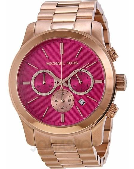 Relógio Michael Kors Mk5931 Rose Pink Original Completo