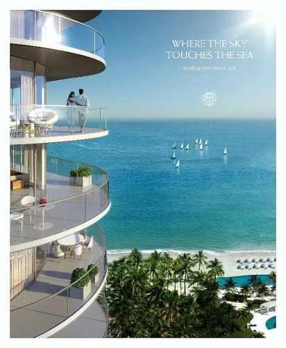 Harbour Beach. Lujosas Residencias De Firma Con Prestigio Mundial Y Vista Al Mar En Novo Cancún. 4 Recs. Puerto Cancún. Cancún