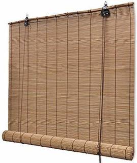 Persianas De Bamboo 72 X 72 Enrollable