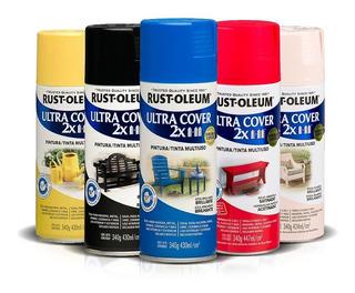 Aerosol Rust Oleum Ultra Cover 2x   +40 Colores   430ml