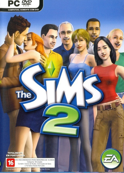 Game Pc The Sims 2 Dvdrom