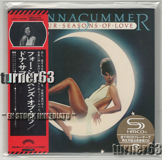 Cd-shm ** Donna Summer ** Four Seasons Of Love ** Jp C/o B I