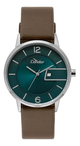 Relógio Condor Unissex Ultra Fino Prata Cogl10bu/3v