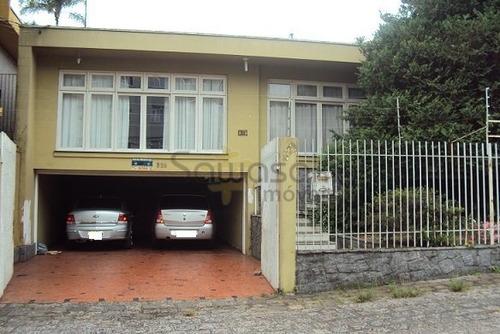 Casa A Venda No Bairro Jardim Botânico Em Curitiba - Pr.  - 3502-1