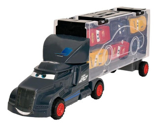 Juguete Camion Cars Vehiculo Transporte De 6 Autos Ditoys
