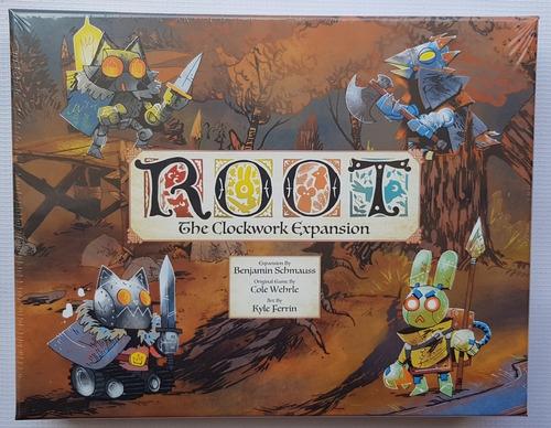 Root The Clockwork Expansion Juego De Mesa / Boardgame Nuevo