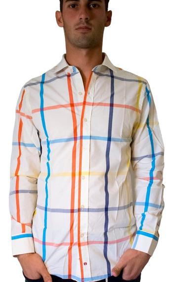 Camisa Hombre Bensimon Slim Fit Moda