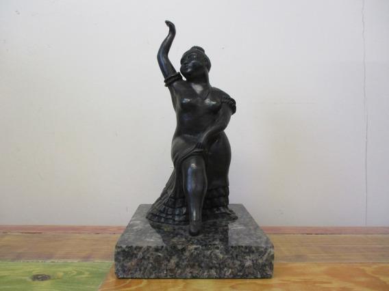 Escultura En Bronce Bailarina De Fernando Botero