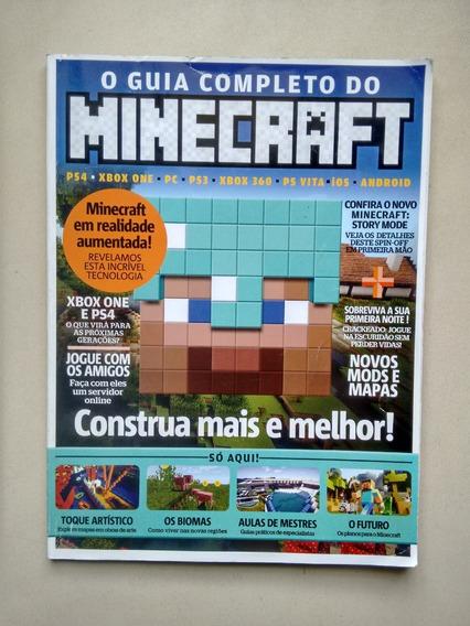 Revista Minecraft Guia Completo Mods Mapas Biomas D367