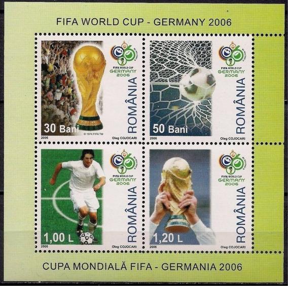 2006 Deportes- Futbol- Mundial Alemania - Rumania Mnh