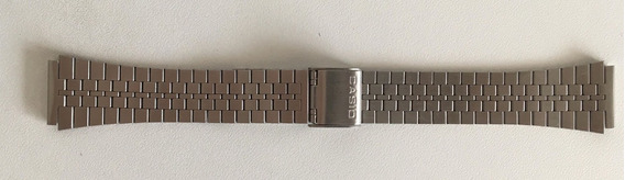 Pulseira Relógio Casio A168 Vintage Retrô Prata