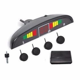 Sensor De Estacionamento 4 Pontos Com Display Ray X Preto
