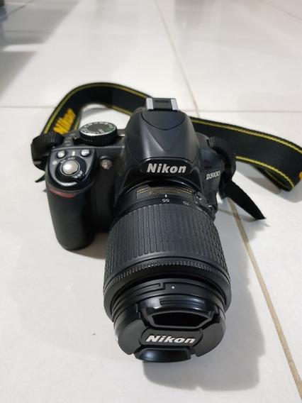 Câmera Nikon D3100 Com 2 Lentes