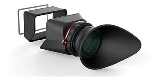 Visor Magnificador 2 En 1 Para Cámara Dslr Canon Nikon Sony