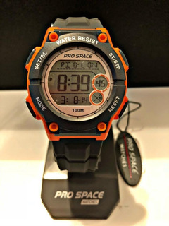 Reloj Deportivo Prospace Chrono Alarm Calend Gtia.luz Compl.