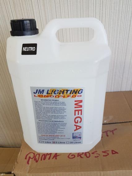 Liquido P/ Maq De Fumaça Jm Lighting Mega 5 L Neutro