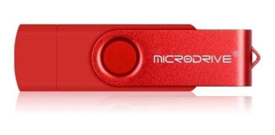 Pen Drive 32 Gb Otg Duas Entradas Usb E Micro Usb Original