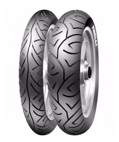 Par Pneu Pirelli Sport Demon 100/80-17 + 130/70-17 Fazer 250