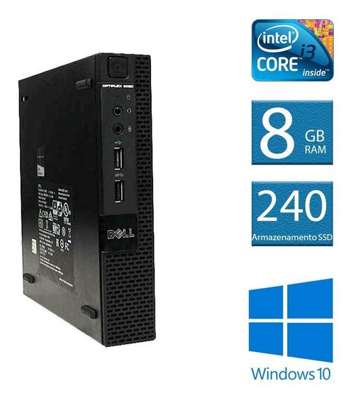 Computador Desktop Dell Optiplex Mini 3020 I3 8gb 240ssd