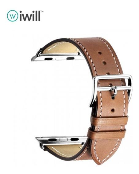 Pulseira Relógio Smartwatch Tam 38/40 E 42/44 De Couro Iwill