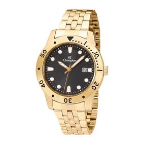 Relógio Masculino Champion Dourado Ca31444x