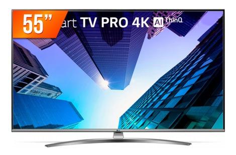 Tv Smart LG Pro 4k Ai 55 - 55um761c0sb - Bivolt