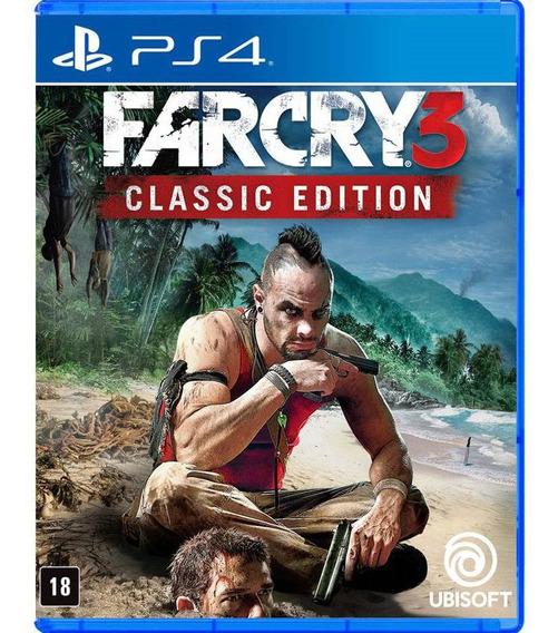 Far Cry 3 Classic Edition Ps4 Mídia Física Lacrada