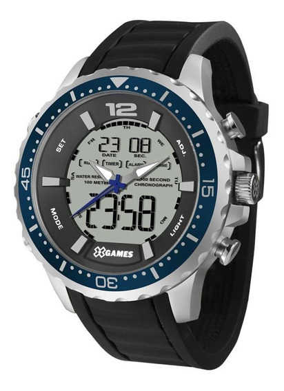Relógio Masculino X Games Xteel Xmspa027-bxpx