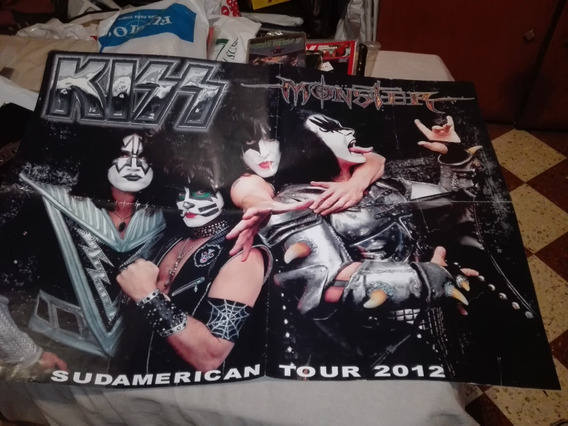 Lote 2 Posters Grupo Kiss Stanley Simmons Gusx
