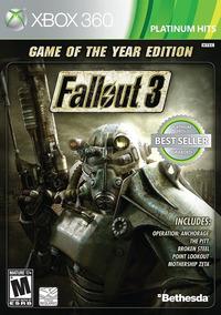 Jogo Fallout 3 Goty Edition Xbox 360 X360 Mídia Física Game