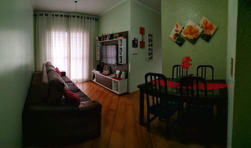 Ótimo Apartamento À Venda 3 Quartos, 1 Vaga - Bairro Dos Casa - São Bernardo Do Campo/ Sp - 62066